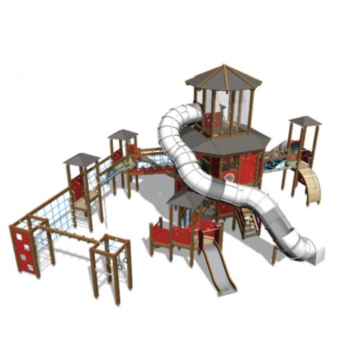 """Индивидуальные проекты - купить детские площадки от производителя """"СтройГород-ЮГ"""""""