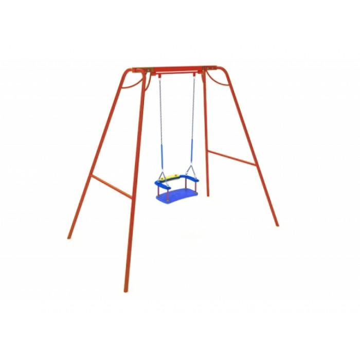 КАЧ-1.5 Рама для подвесных качелей и сиденье со спинкой К-1.01(тип 1)