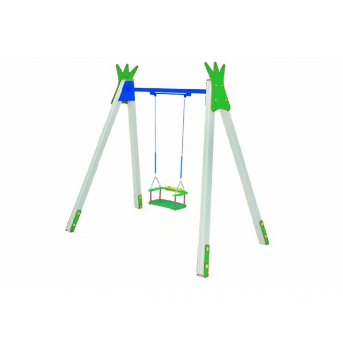 КАЧ-1.8 Рама для подвесных качелей и сиденье со спинкой К-1.01(тип 1)