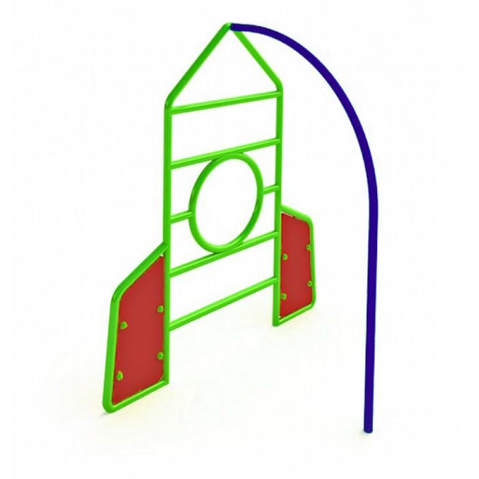 """МФ-1.76 - Детская фигура для лазания """"Ракета"""""""