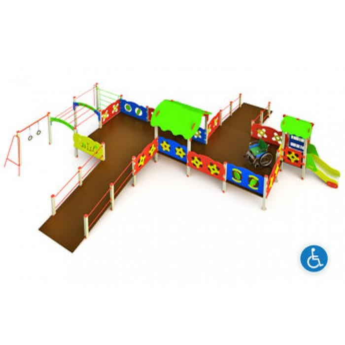 Детский игровой комплекс МГН-1.4(тип 3)