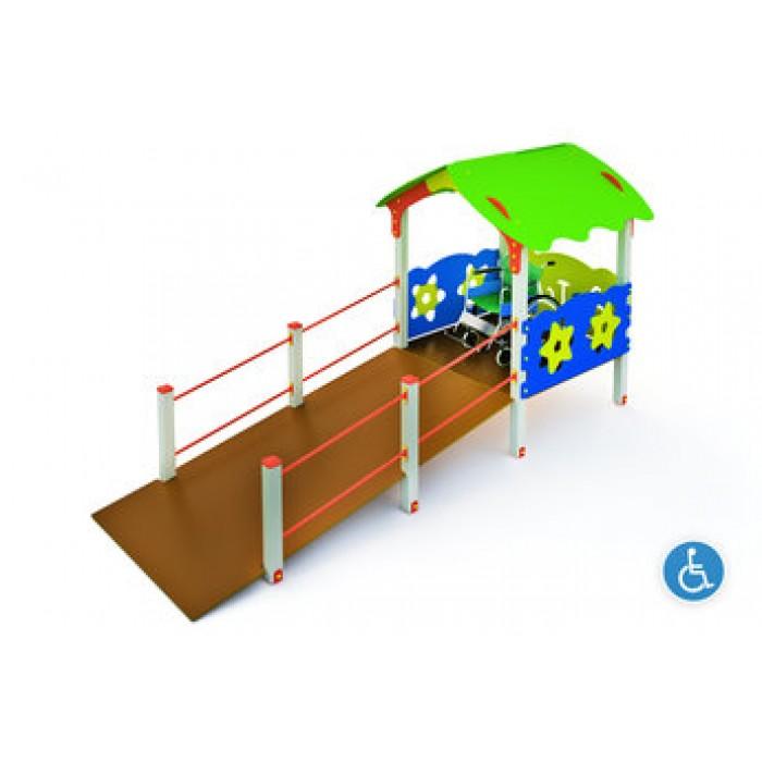 Детский игровой комплекс СПЕЦ-МФ-1.1(тип 1)