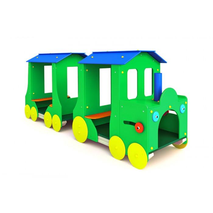 """МФ-1.7 - Детская игровая форма """"Паравозик с вагоном"""""""