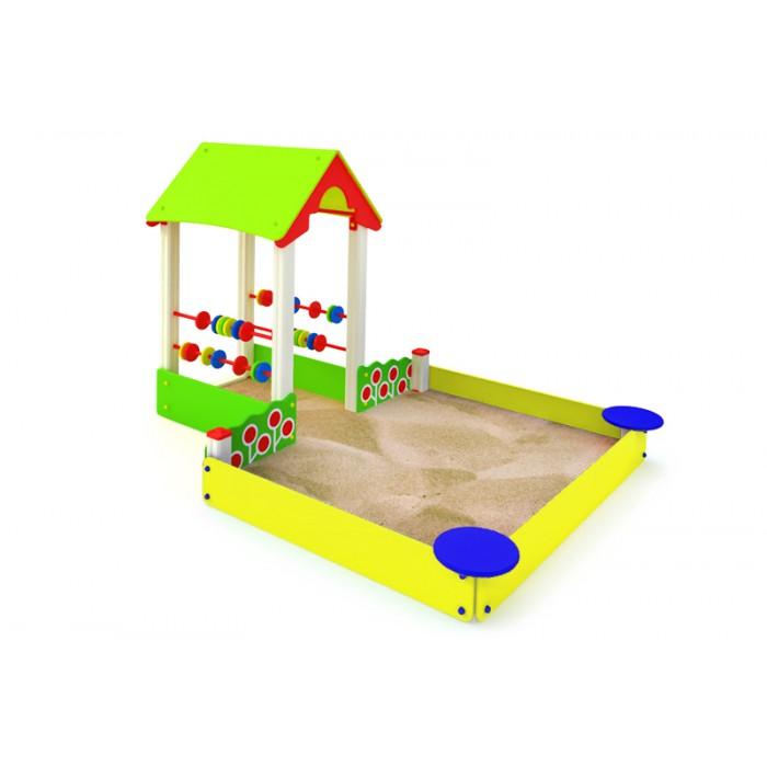"""МФ-1.75 -- Детская песочница """"Ягодный дворик"""""""