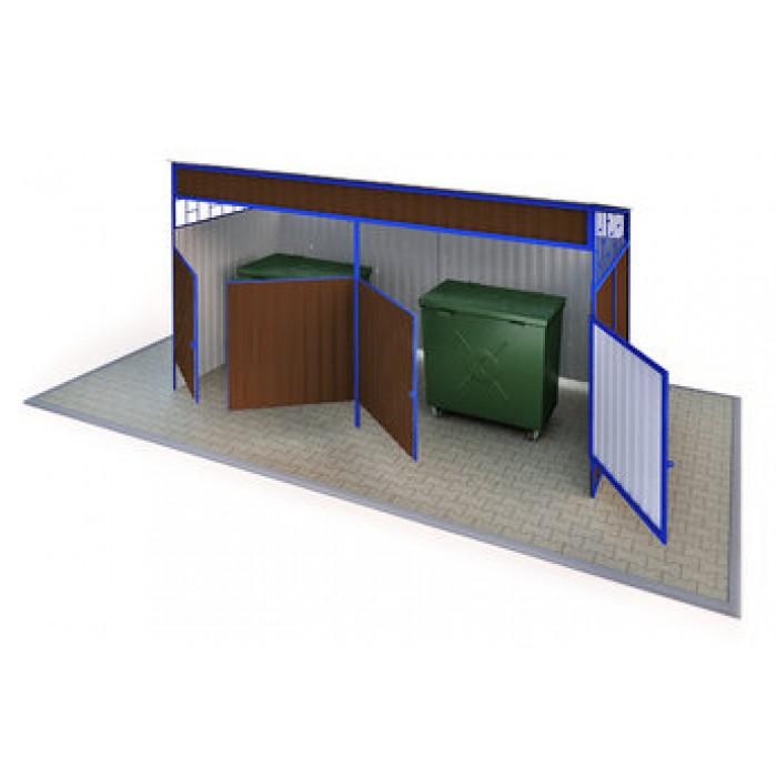 МФ-1.45.5 - Навес для мусорных баков