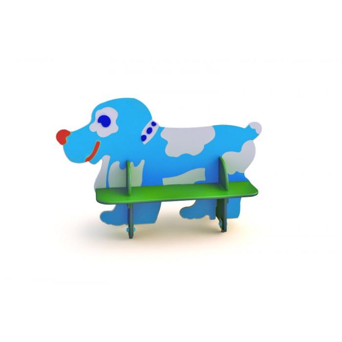 """СД-1.21 Детская скамейка """"Собака"""""""