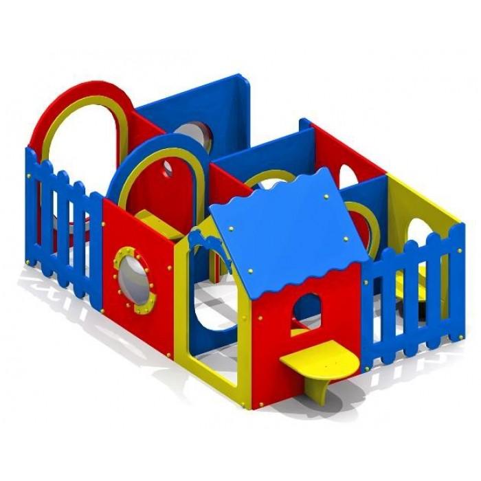 Домик-лабиринт 6 секций 4398