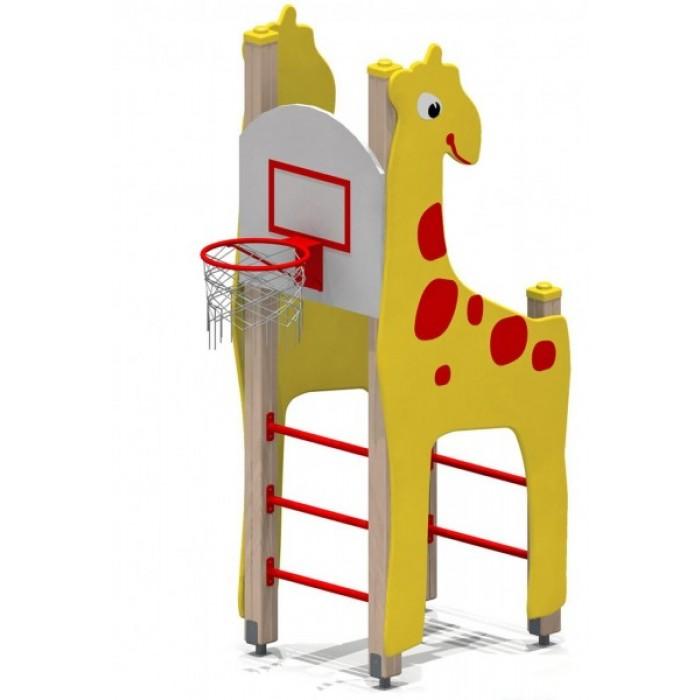 Жираф с баскетбольным щитом 6150