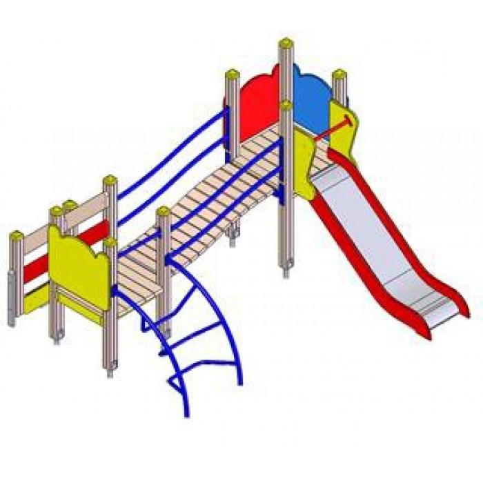 Детский игровой комплекс 5111