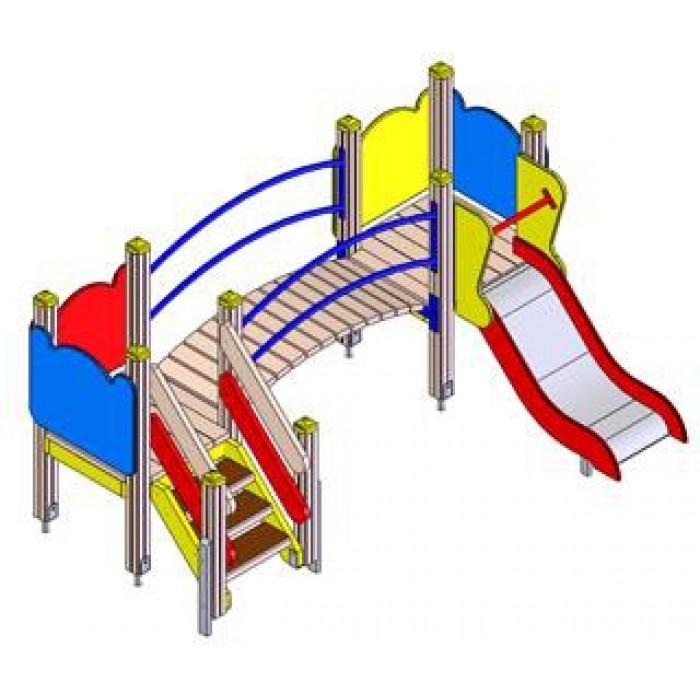 Детский игровой комплекс 5112