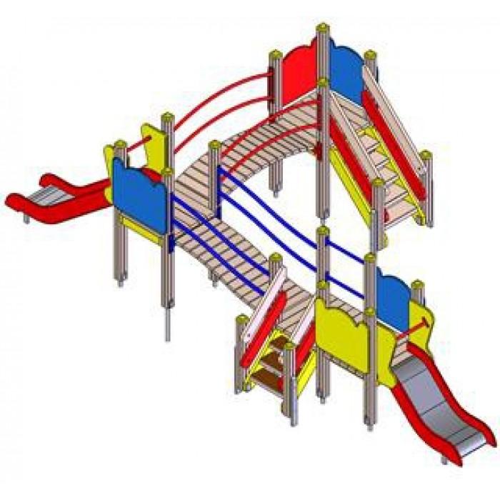 Детский игровой комплекс 5113